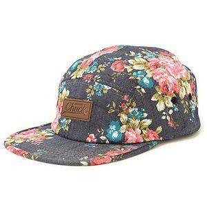 🇺🇸 Original Chuck Best Buds Floral 5 Panel Hat